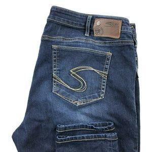 Silver Suki Jegging Dark Wash Jeans